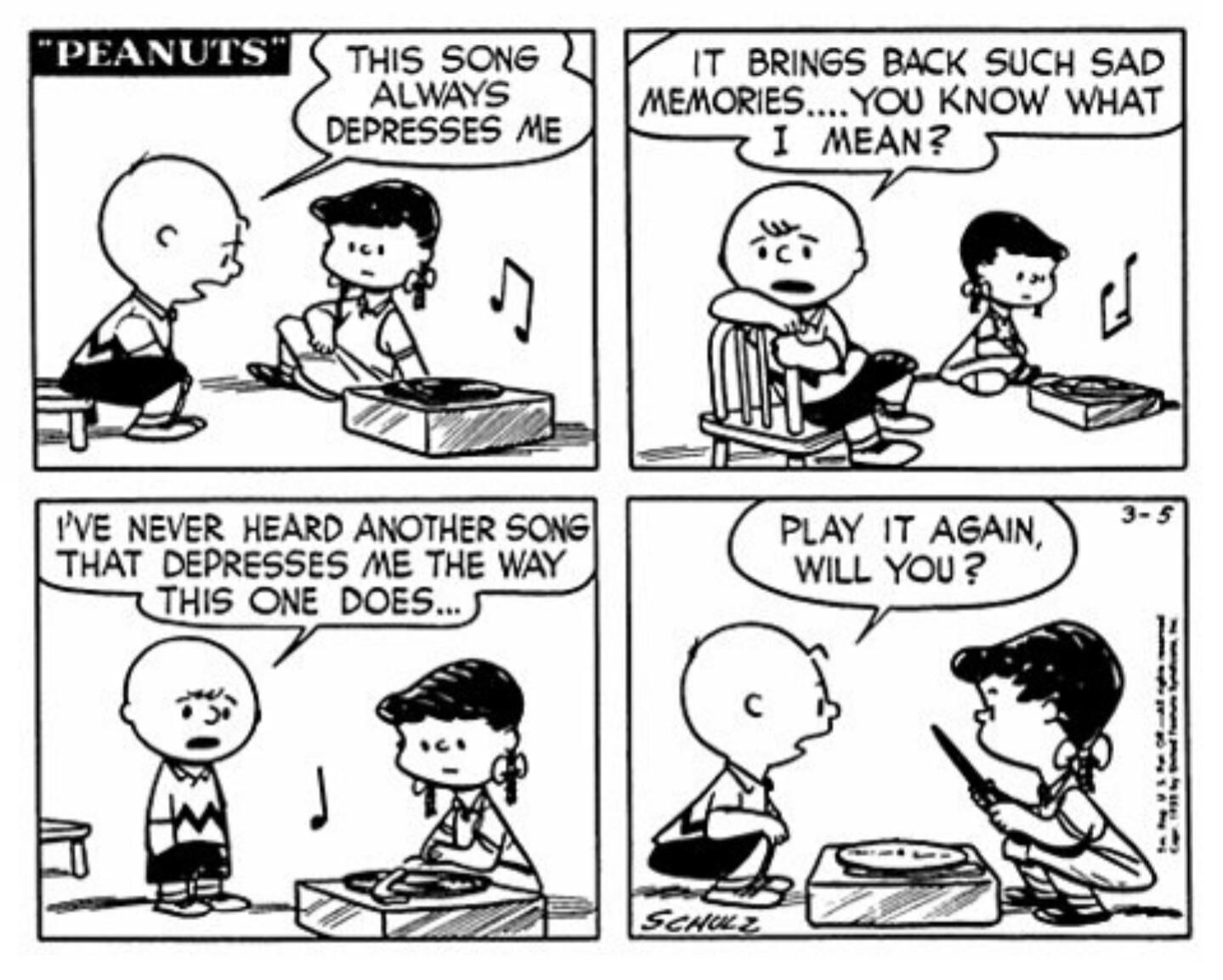 This Is My Favorite Peanuts Comic Strip Comics
