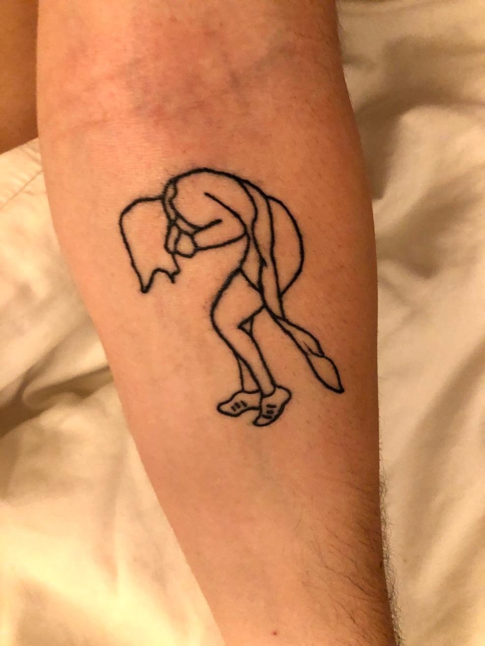 Update From My Lorde Cross Stitch My Green Light Tattoo By Kayla