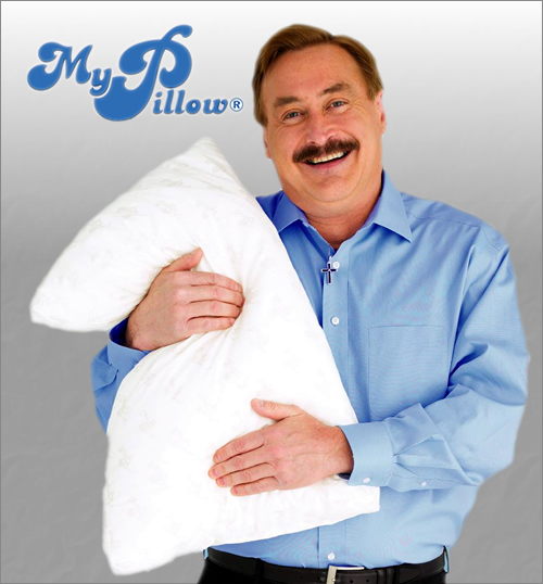 so jay becomes the my pillow guy