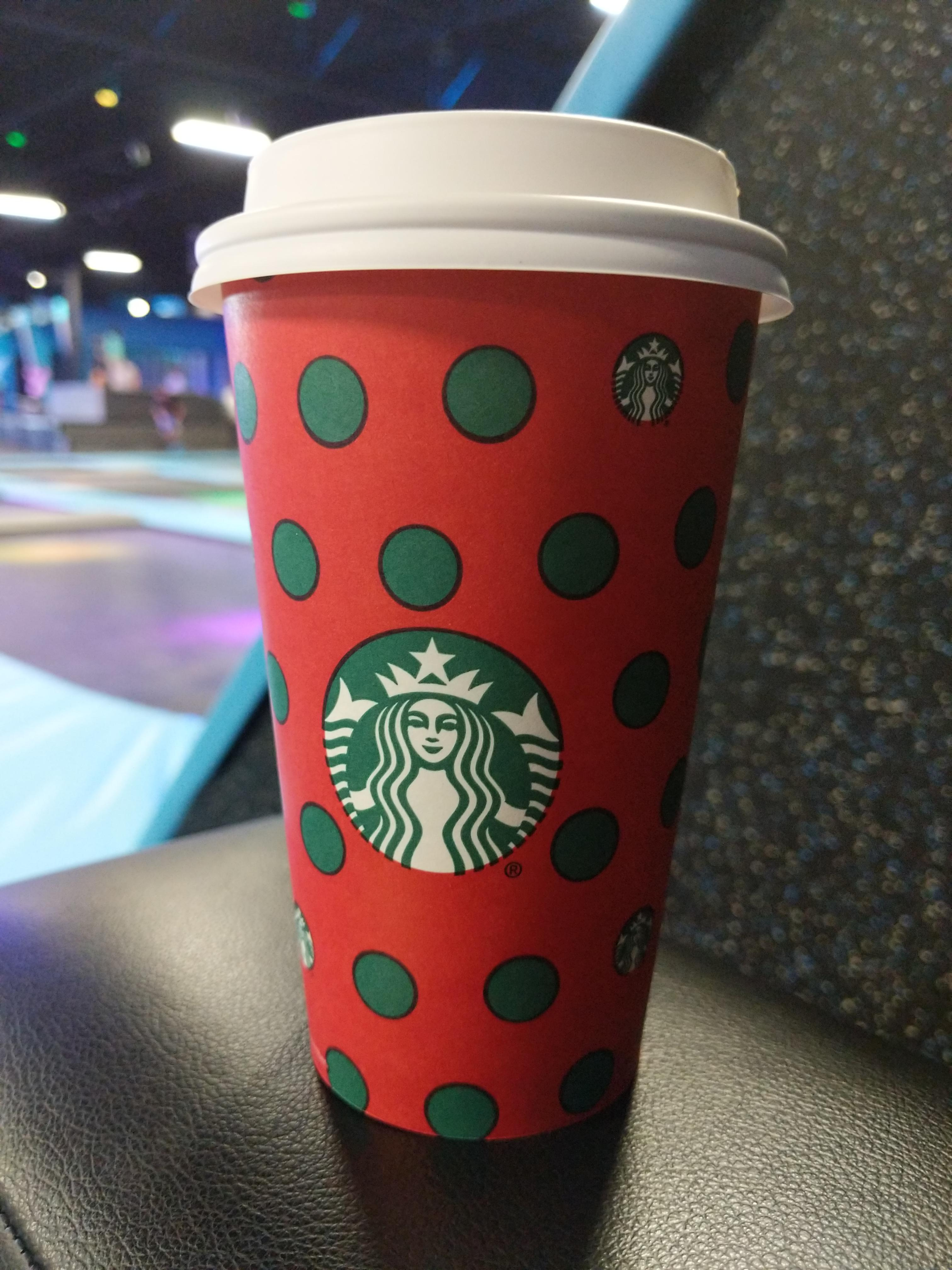 Trampoline Park With Kids Starbucks And Using Brene