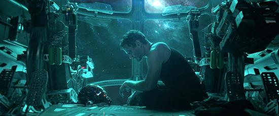 Image result for avengers endgame tony in space