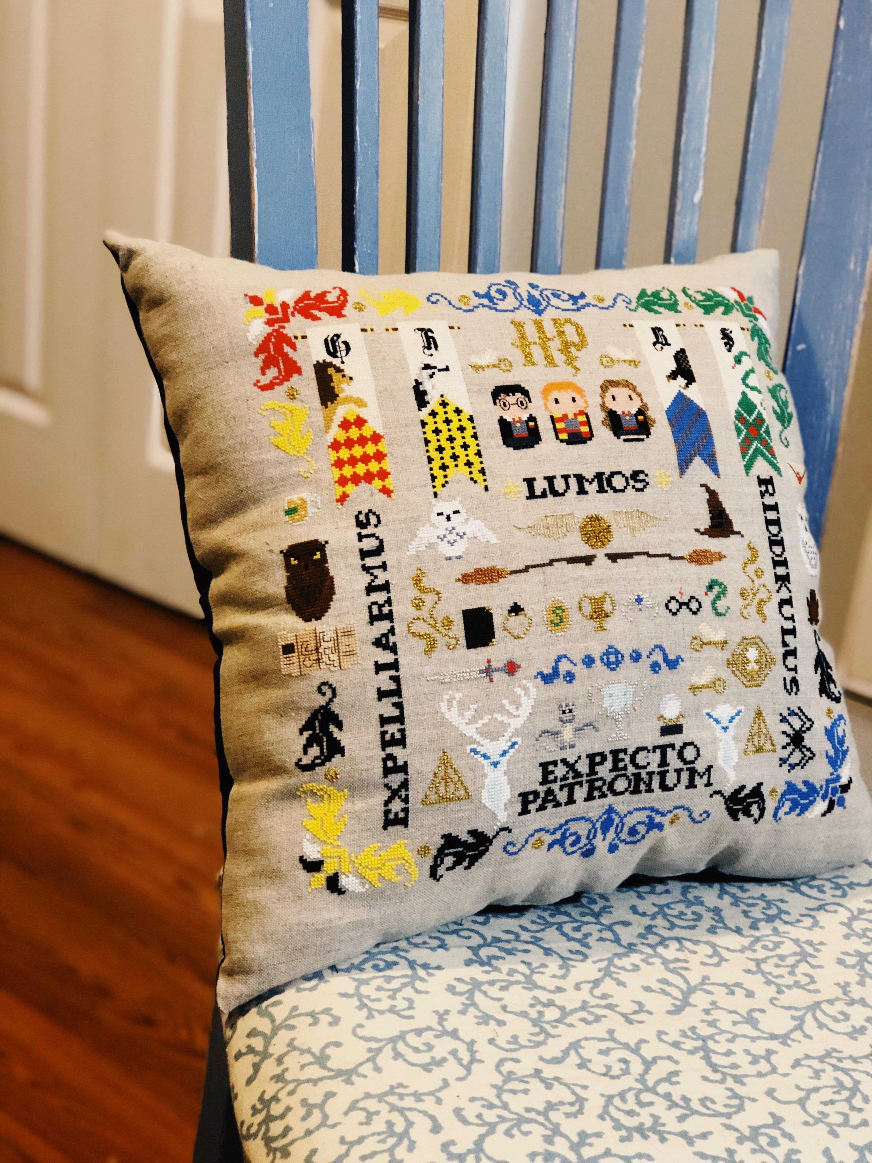 harry potter pillow sampler by