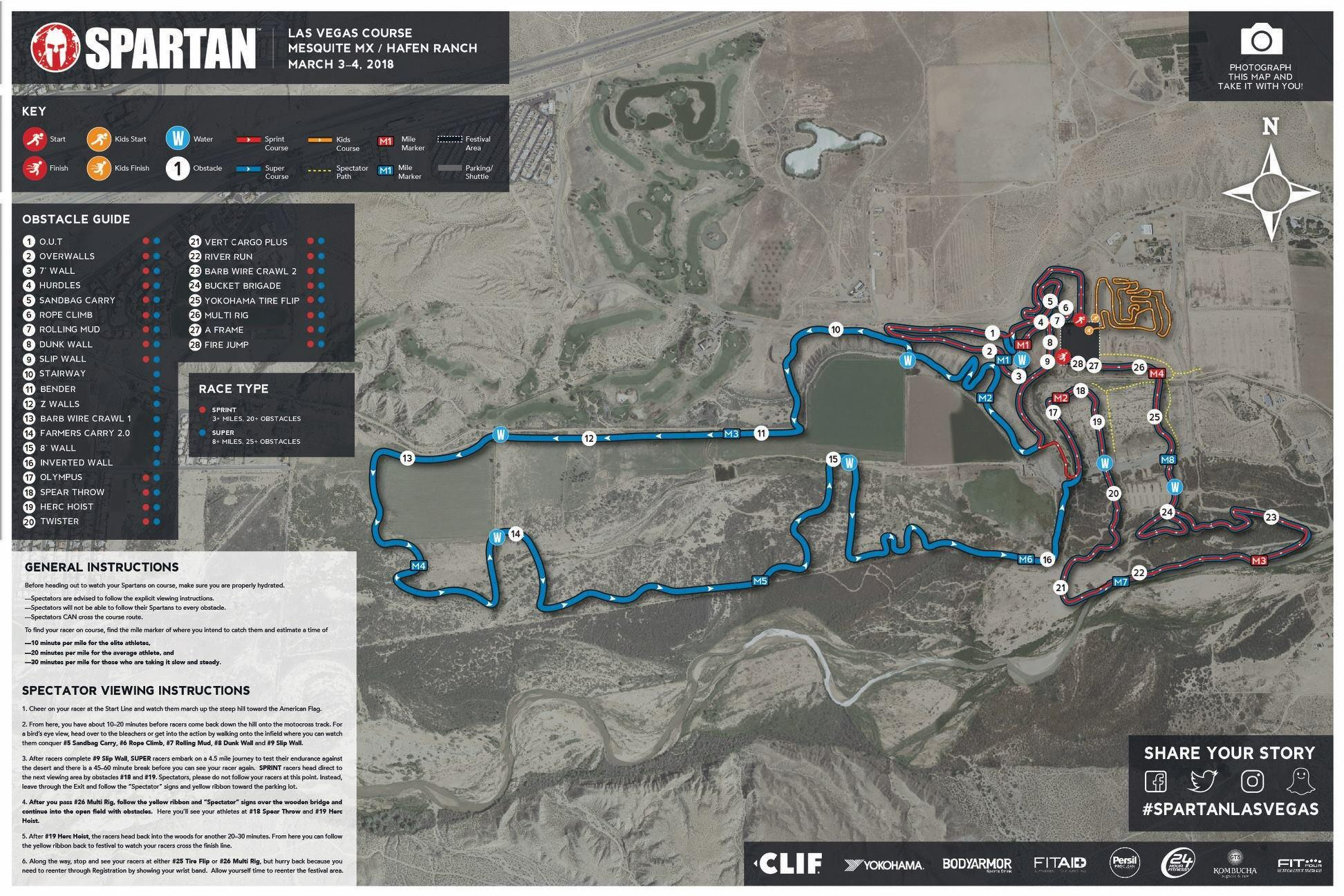Here is your Las Vegas 2018 Course Map   spartanrace     Map  i redd it