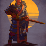 Art Verann Hobgoblin Fighter Samurai Dnd
