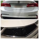 Plastidip Logos Frame Of Grill Badge Plus Rear Bumper Claws Acura