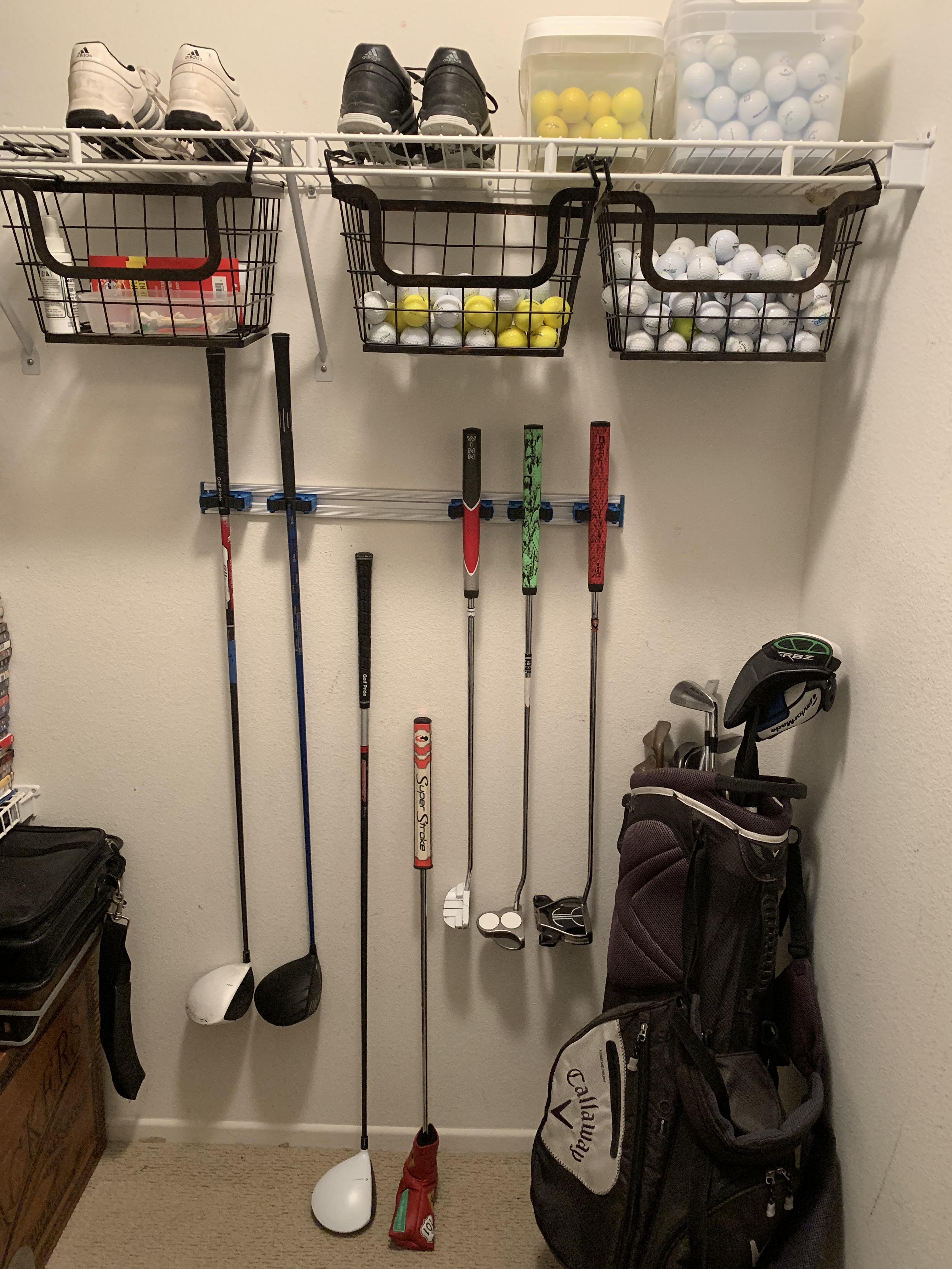 Yes Along With My Golf Problem I Also Have Organizational Issues But It S Better Than An