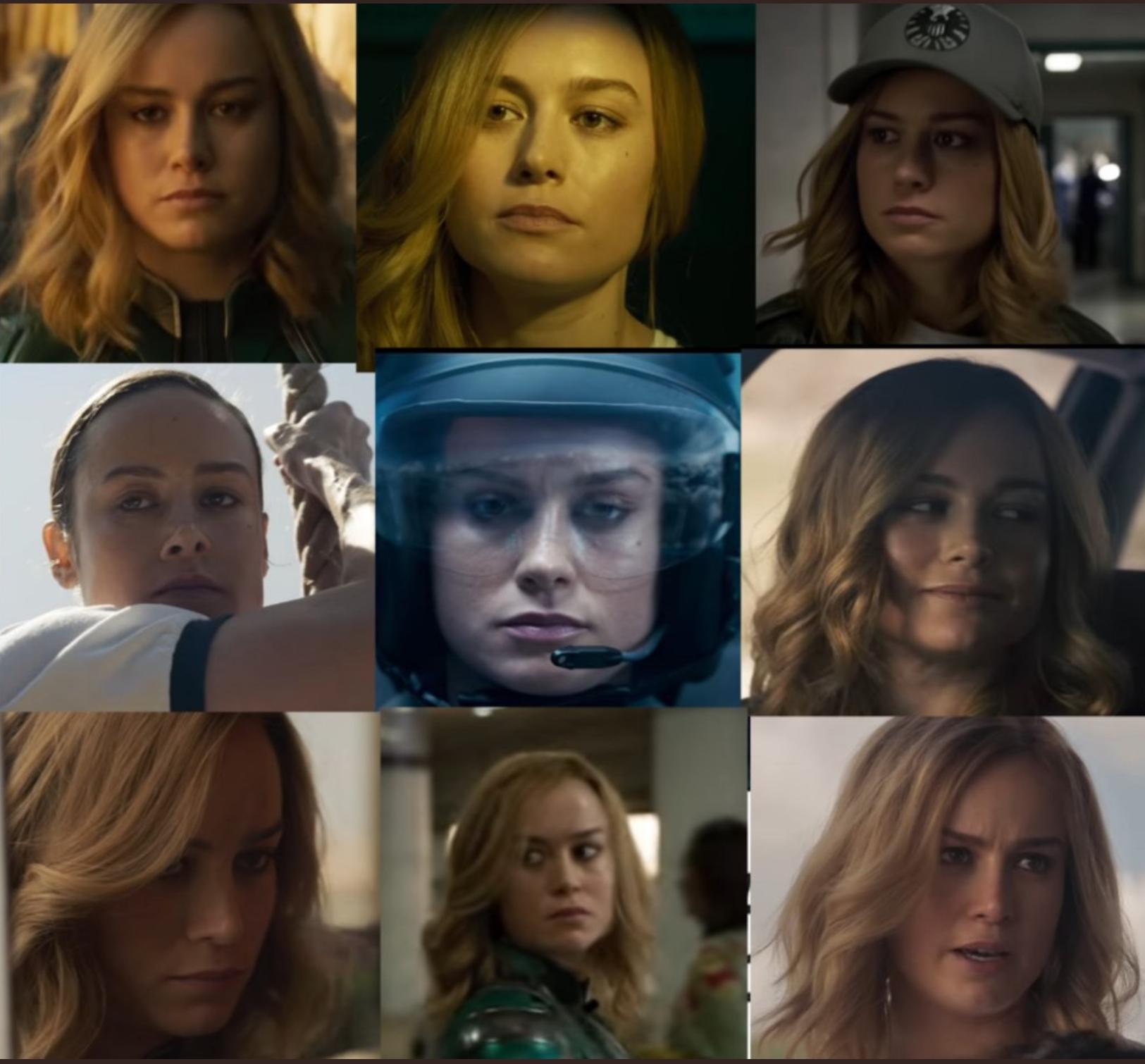 the many faces of captain marvel : marvelstudios