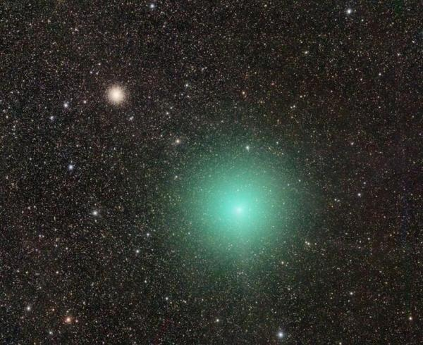 Comet Linear discovered in 2000 underwent a 100fold