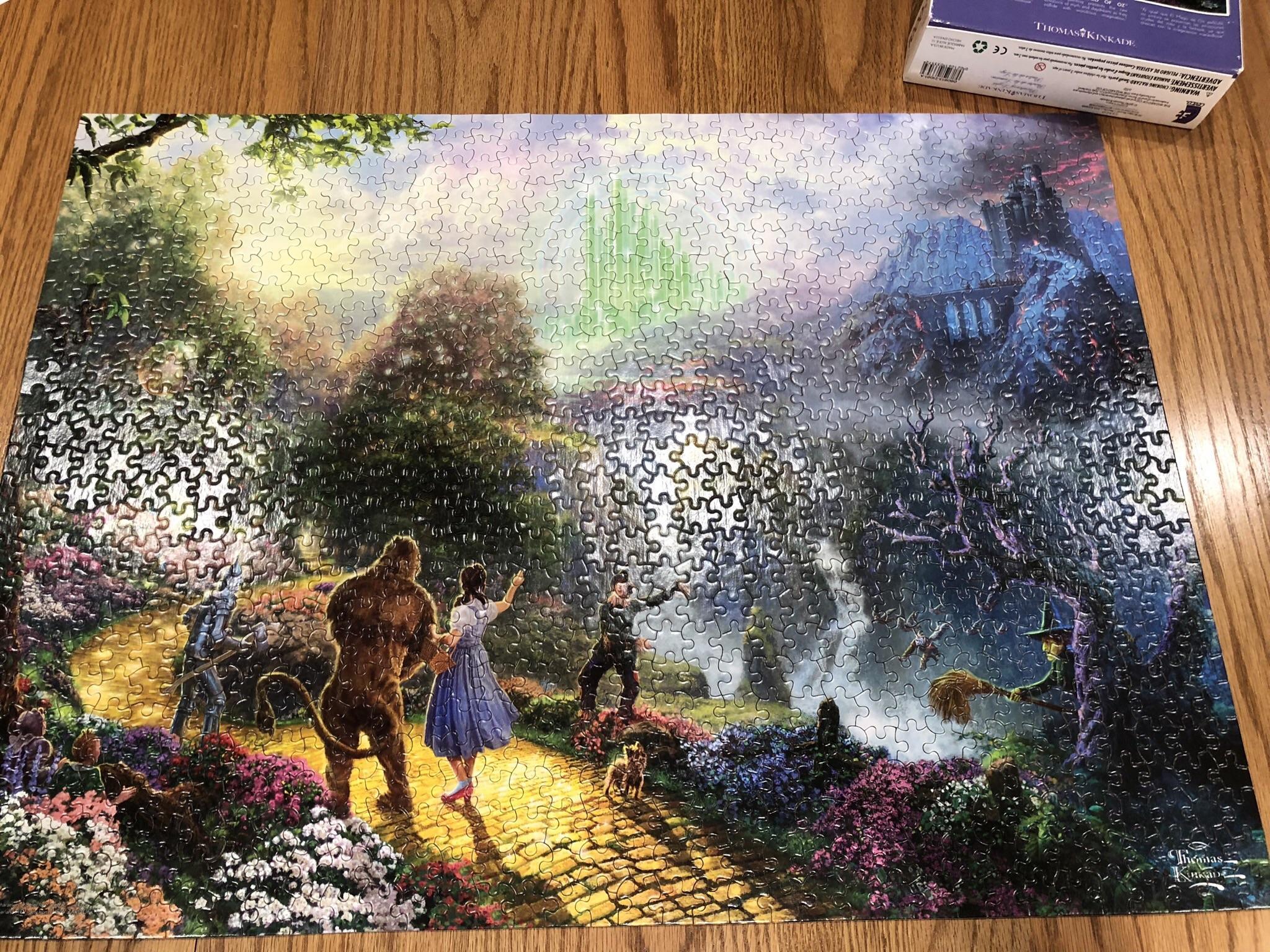 The Wizard Of Oz Thomas Kinkade Pieces Sorry For