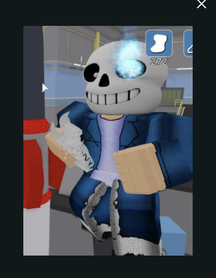 didn t even there was a sans skin
