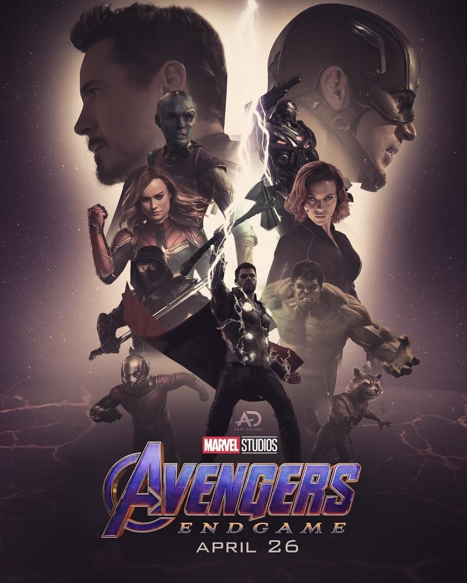 avengers endgame poster art by me