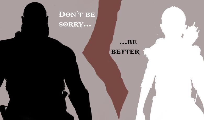 Image result for dont be sorry be better