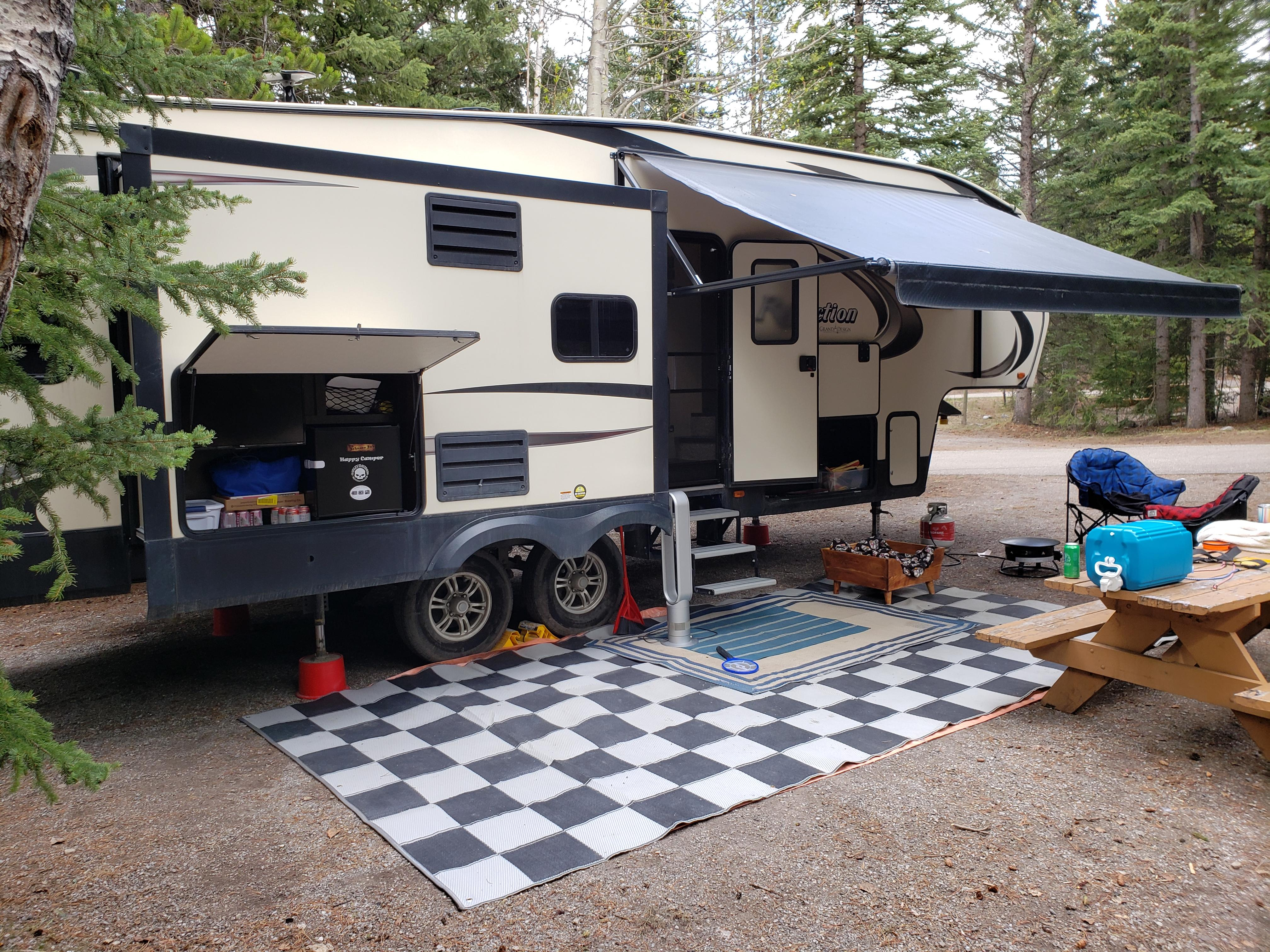 Find the best campgrounds, see campsite photos and read about other camping information in our camping guide. First Time Out This Year Mount Kidd Rv Park In Kananaskis Alberta Canada Gorving
