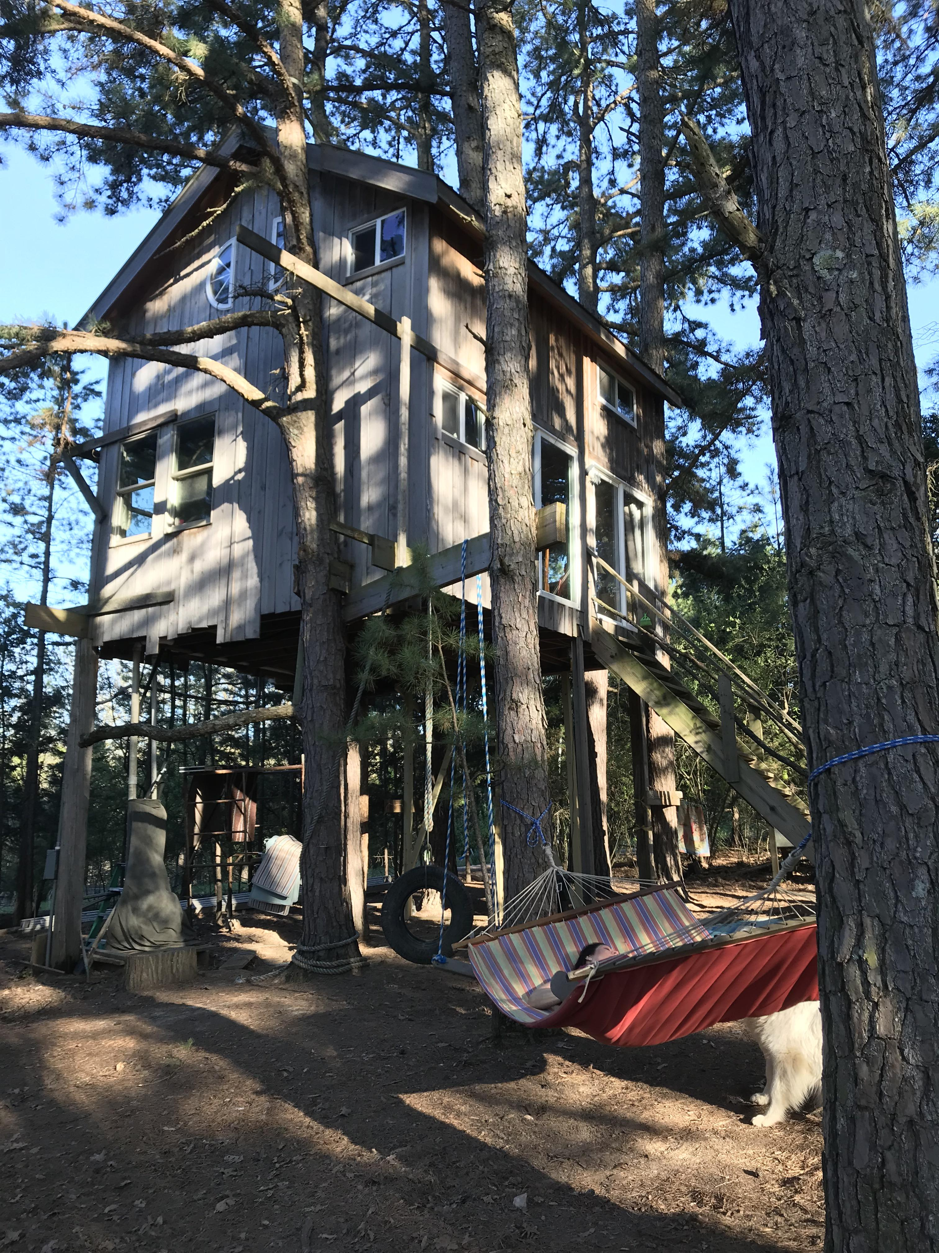 Tree House At Magic Land In Grubville Mo Treehouse