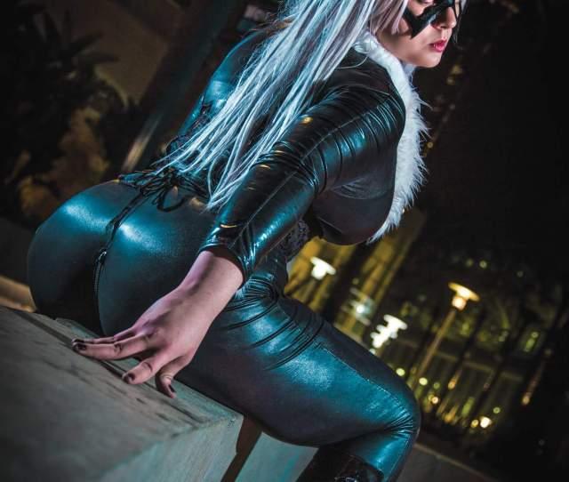 More Sexy Black Cat Nanasushibear