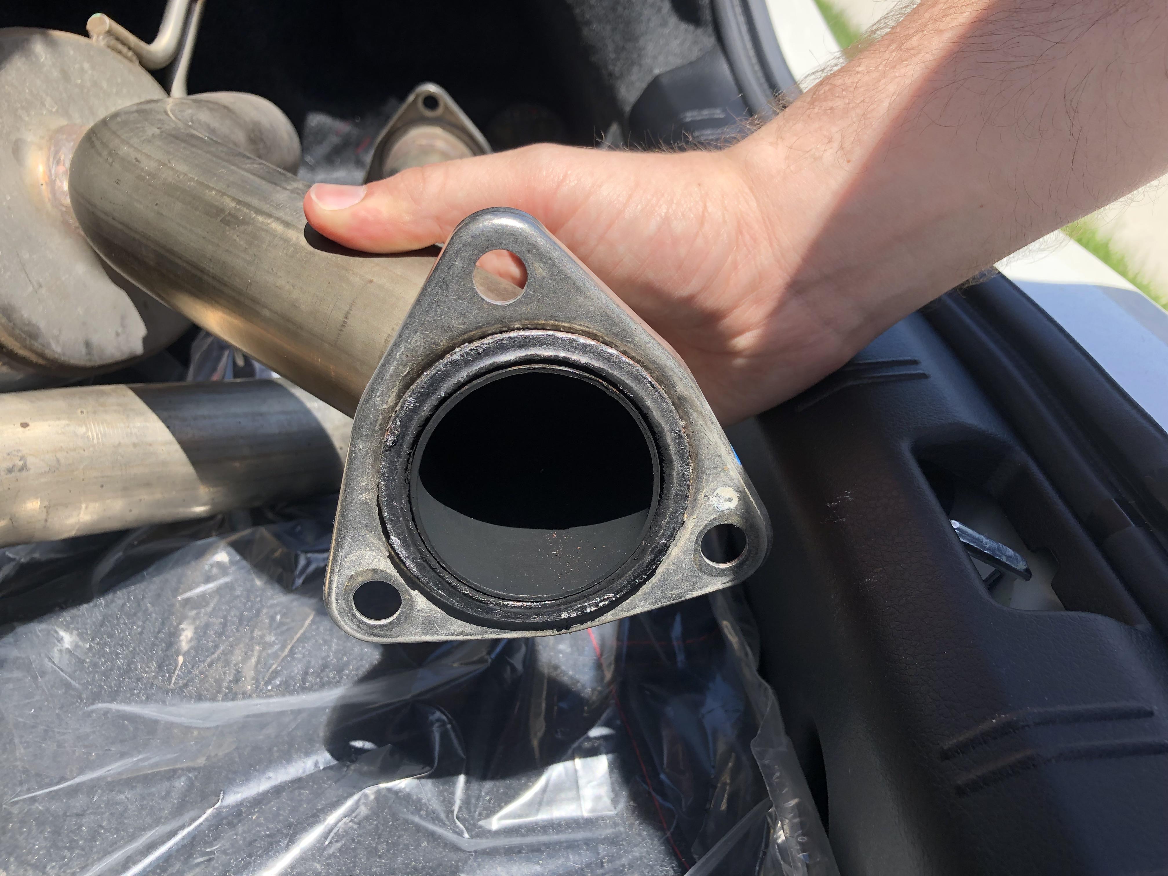spt exhaust gasket part number wrx