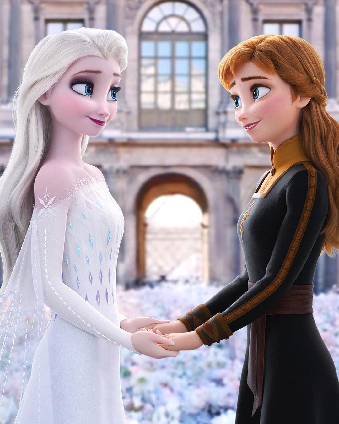 Anna And Elsa Constable Frozen On Instagram Frozen