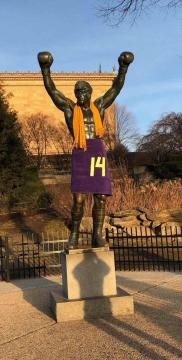 Image result for vikings fans dress rocky