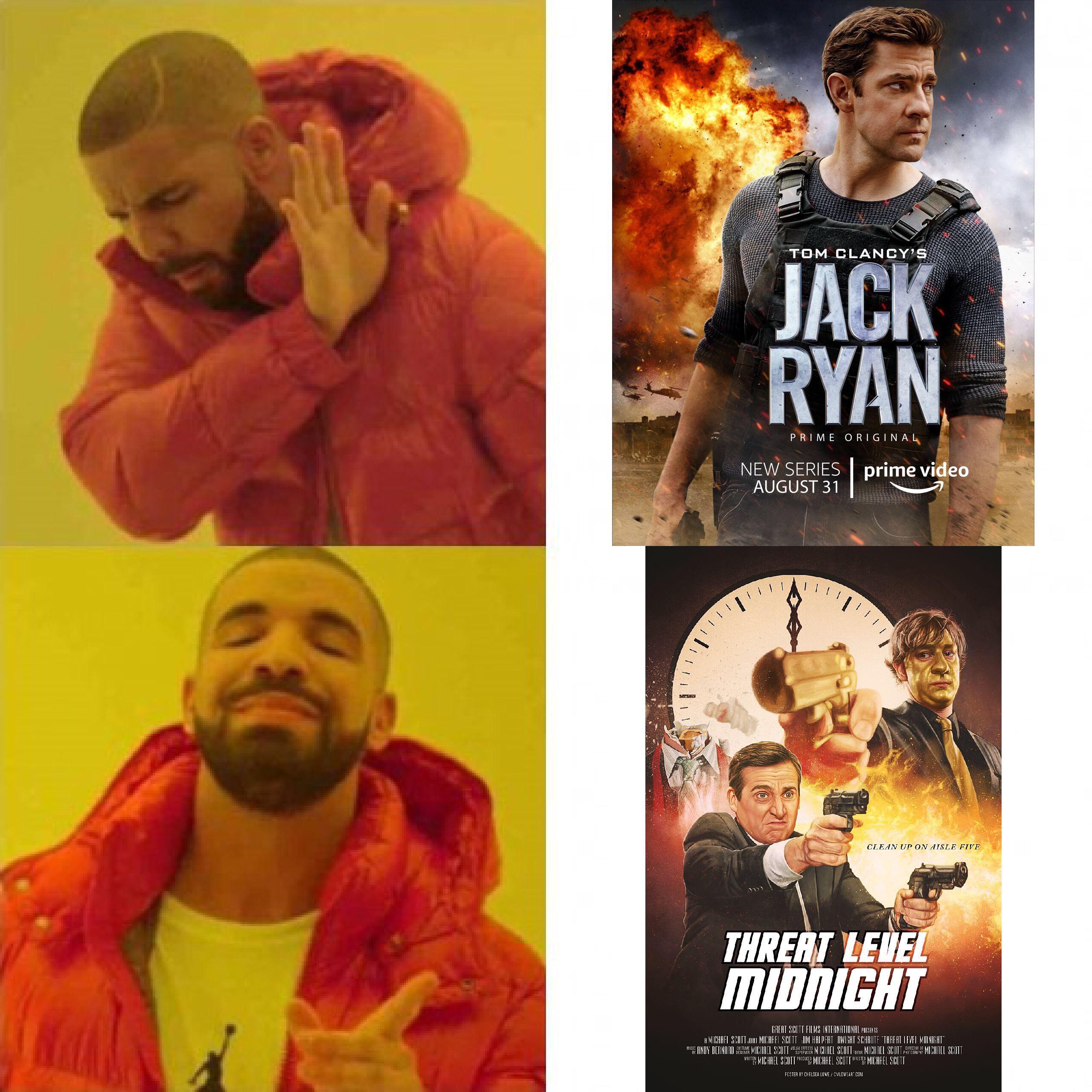 no frame threat level midnight movie
