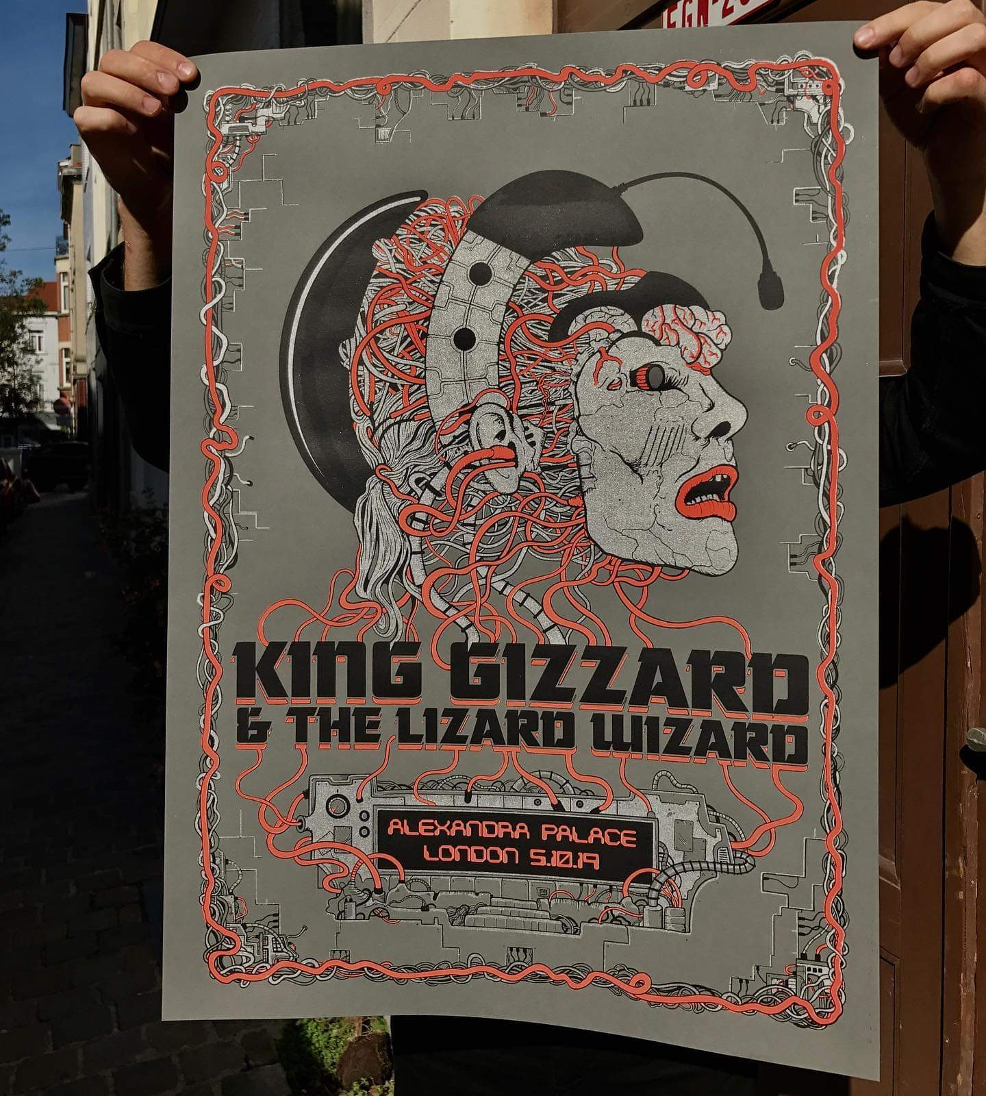 london s tour poster edition of 500