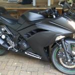 2015 Ninja 300 All Black Everything Plastidip
