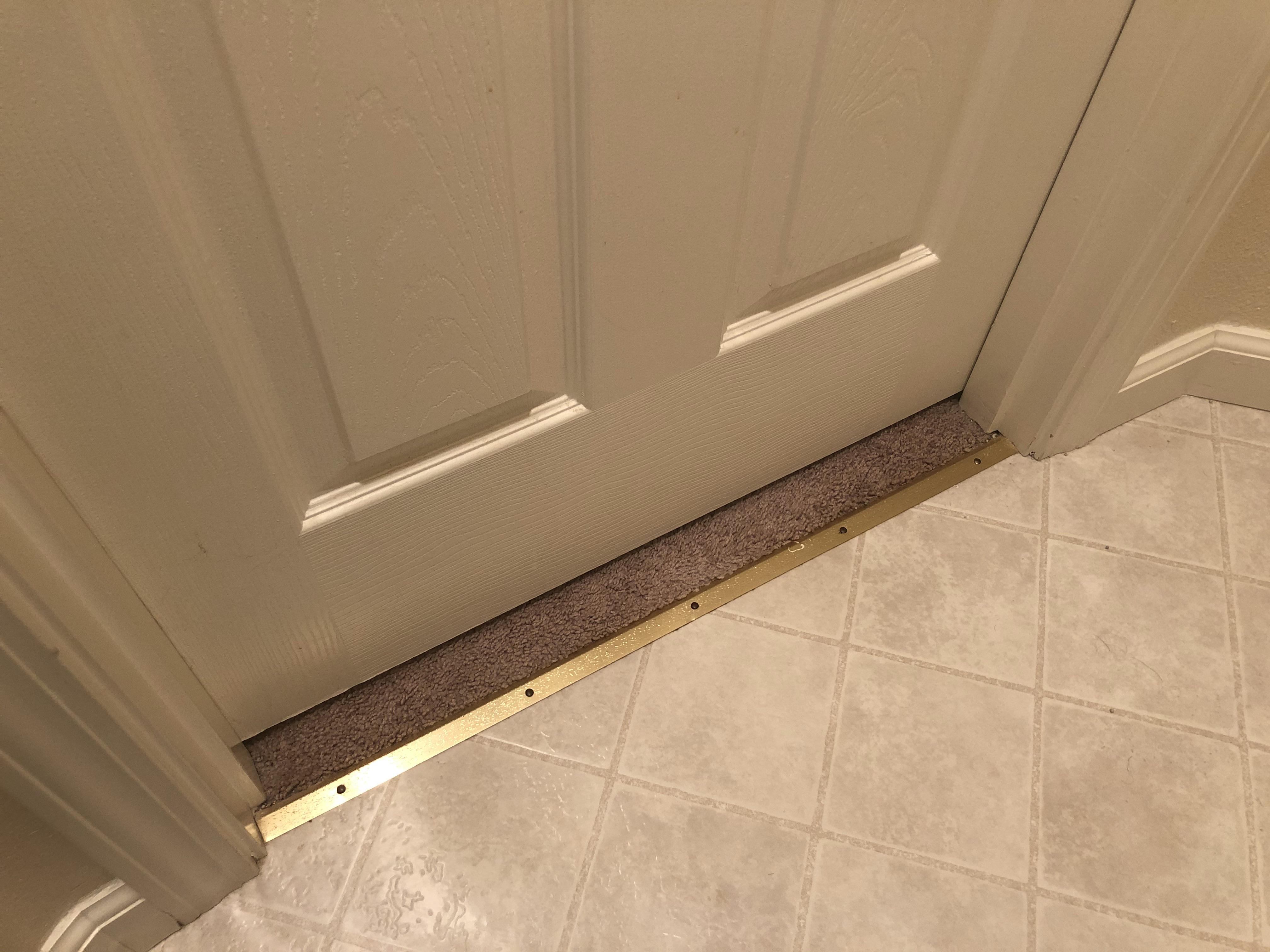 the location of this carpet edge trim
