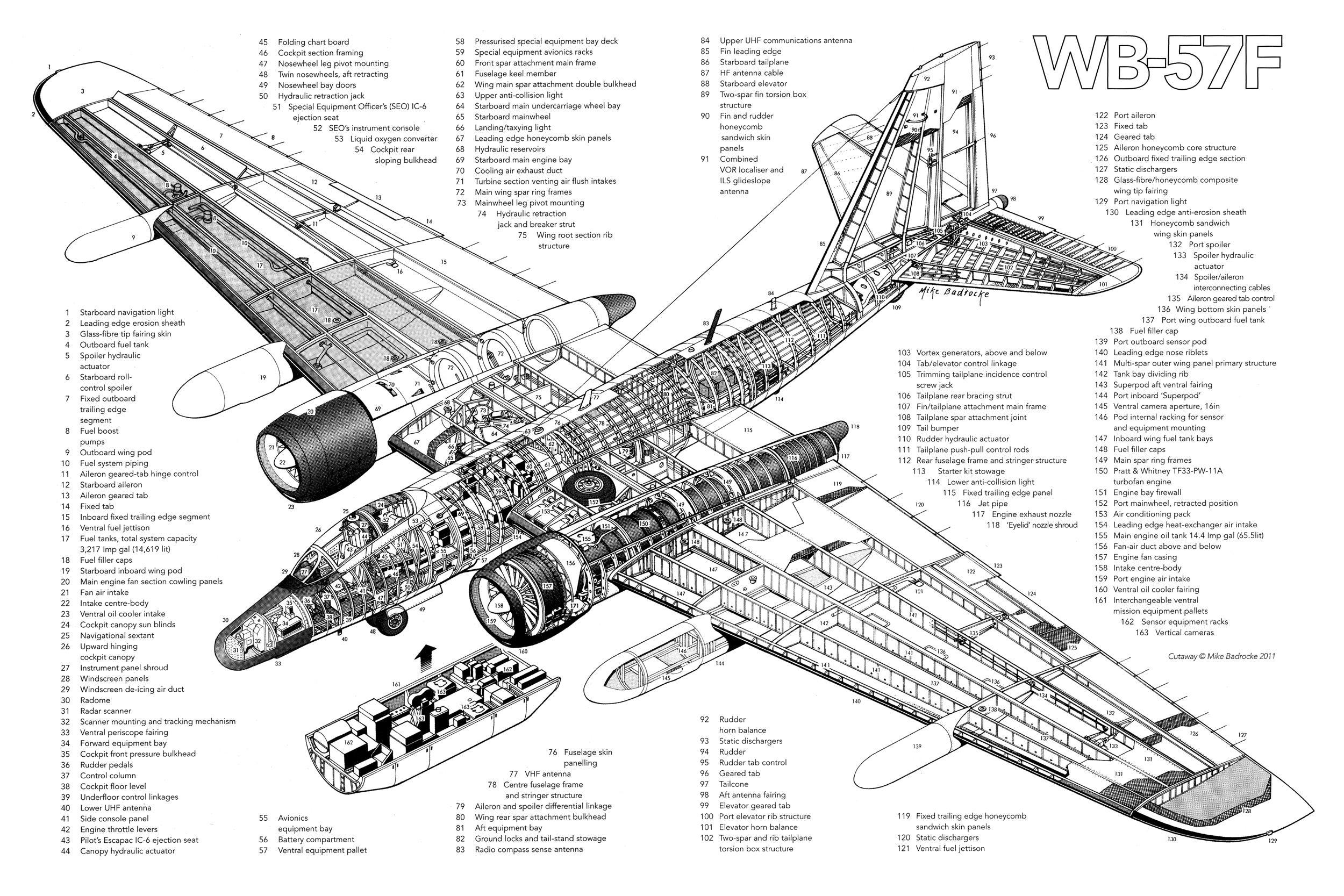 Martin Wb 57f Canberra By Mike Badrocke X