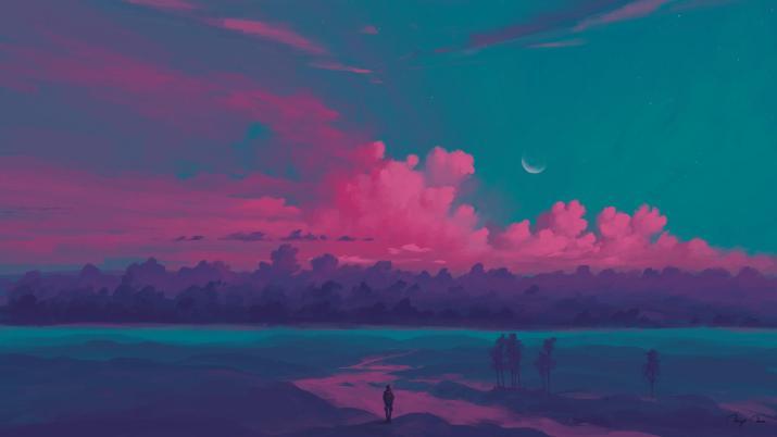 Pink Sunset [1920×1080]