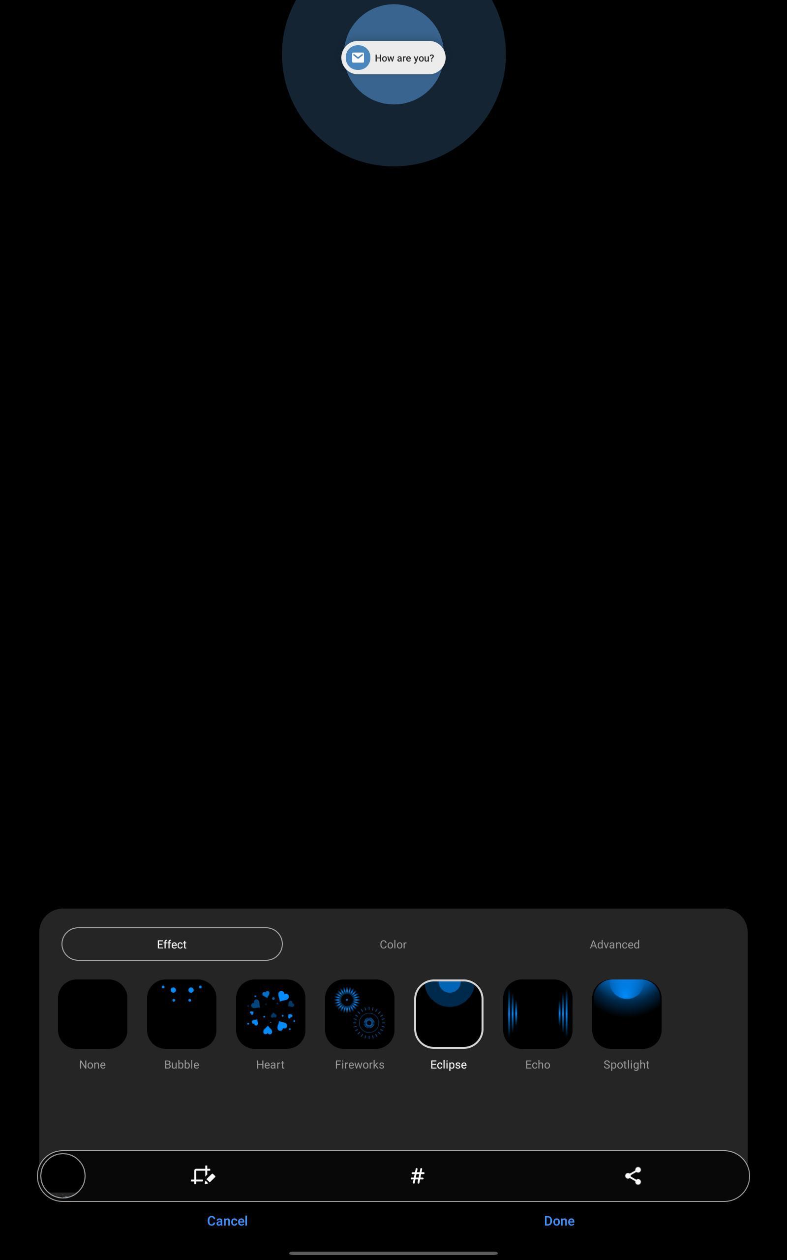 one ui 3 1 brings edge lighting to tabs