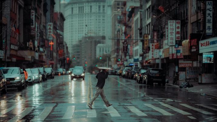 Manhattan rain (Photo credit to Lerone Pieters) [3840 x 2160]