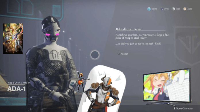 When I Realized Ada 1 Is Our Basement Dwelling Shut In Waifu What Came Next Felt Too Natural Destiny2