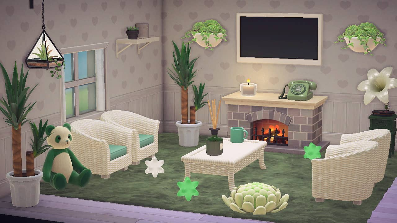 I finally have a living room! : AnimalCrossing on New Horizons Living Room  id=60226