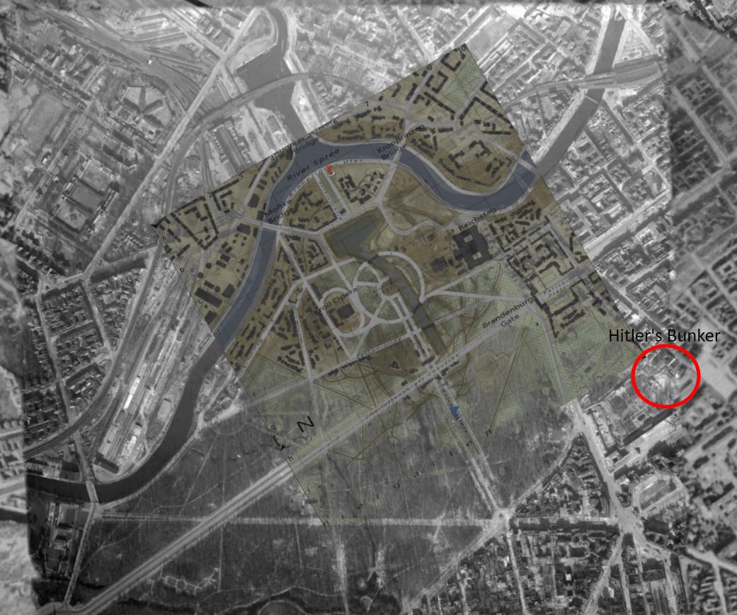 Battle Of Berlin Location On Map