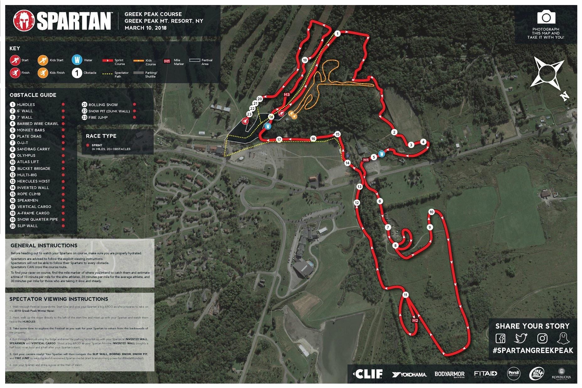 Here s the Greek Peak map for this weekend    spartanrace  i redd it