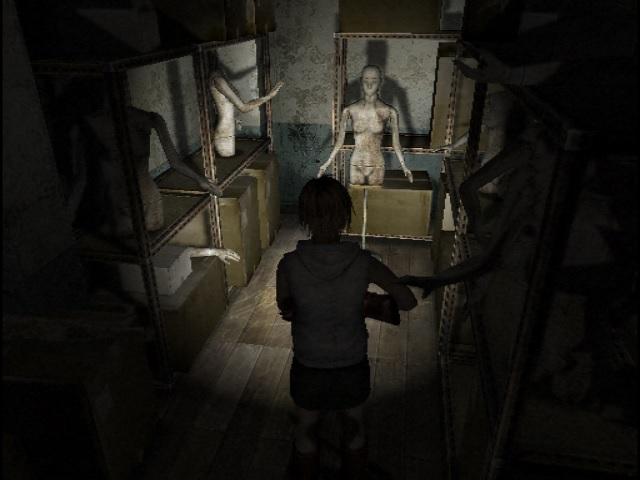 The mannequin room in SH3 : silenthill