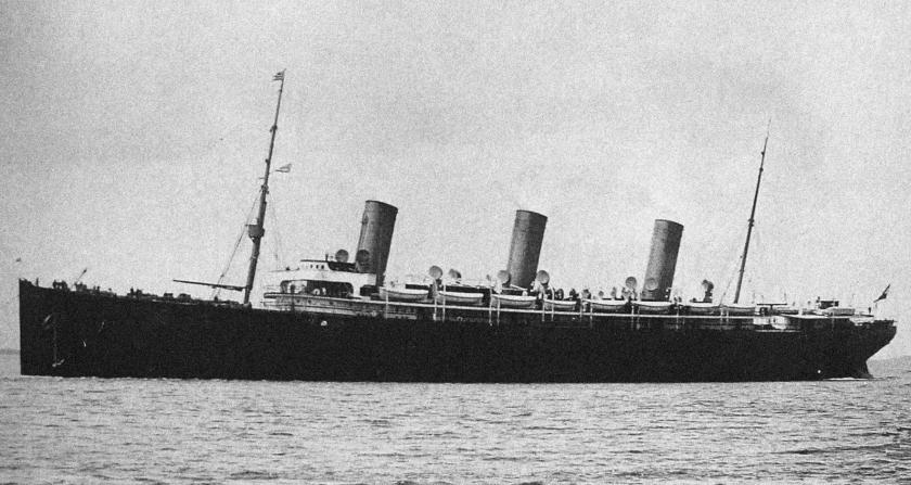 SS Kaiser Friedrich, Norddeutscher Lloyd, 1898-1899, sunk 1916 :  Oceanlinerporn
