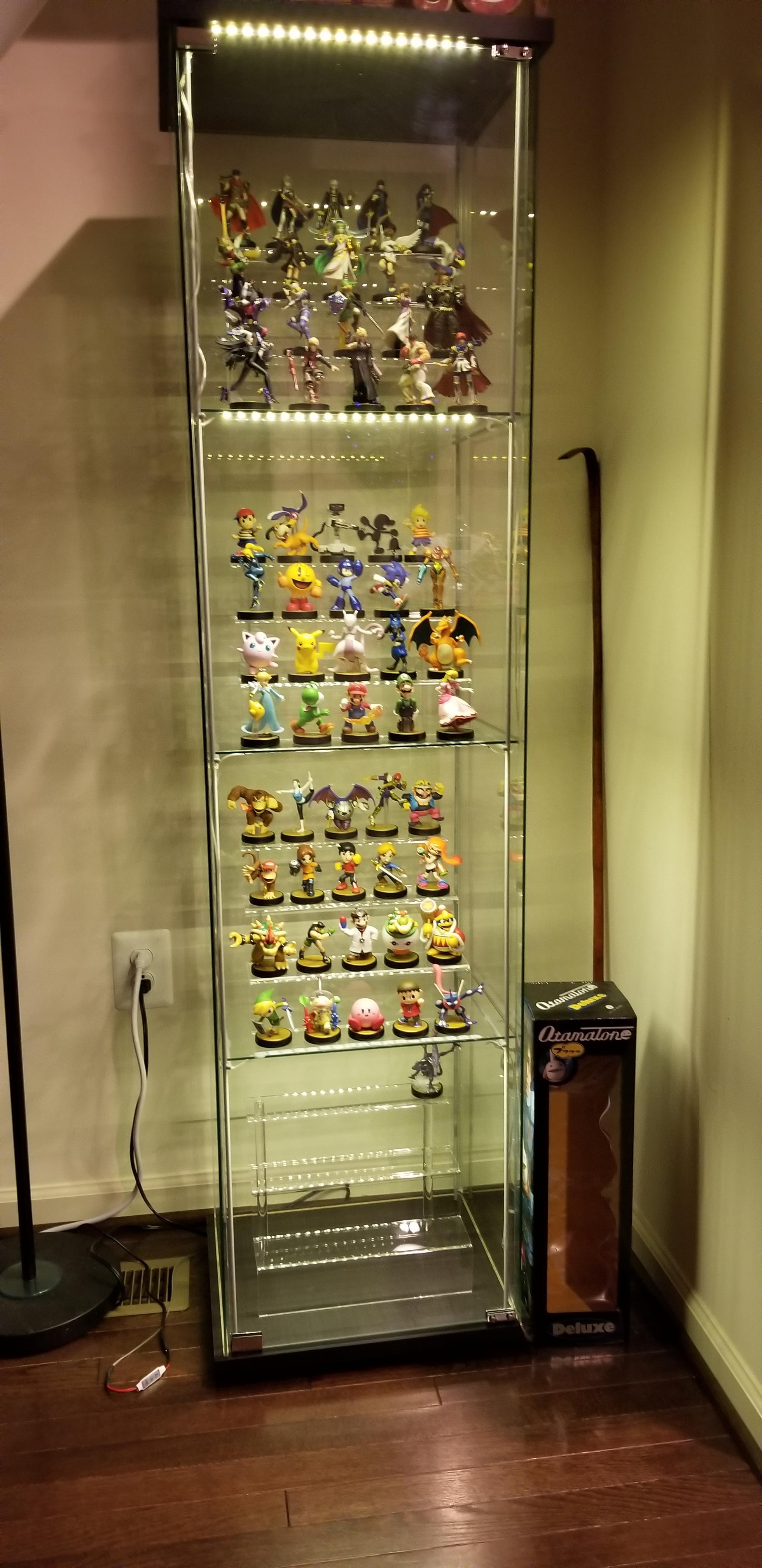 detolf shelf lighting kit niubee