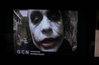 Appreciation: Heath Ledger directed Joker's homemade videos in order to ensure that they were from the Joker's perspective and his Joker's vision. : DC_Cinematic