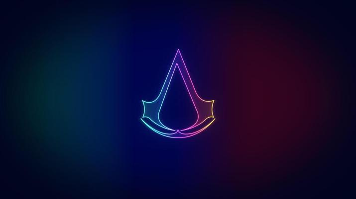 [1366×768] Assassins Creed Neo Logo.