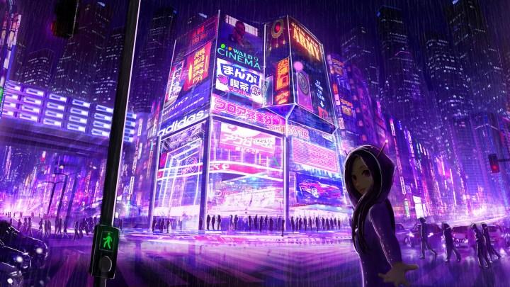 [7680×4320] Tokyo midnight walk