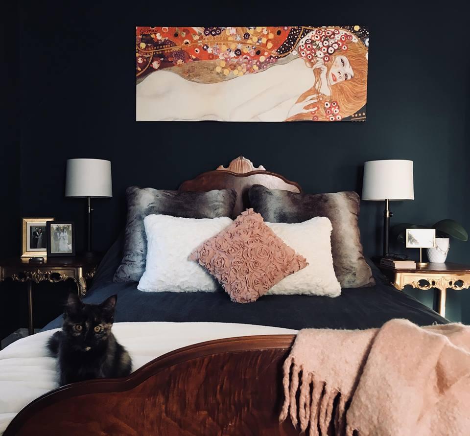 37+ Dark Green Bedroom Background