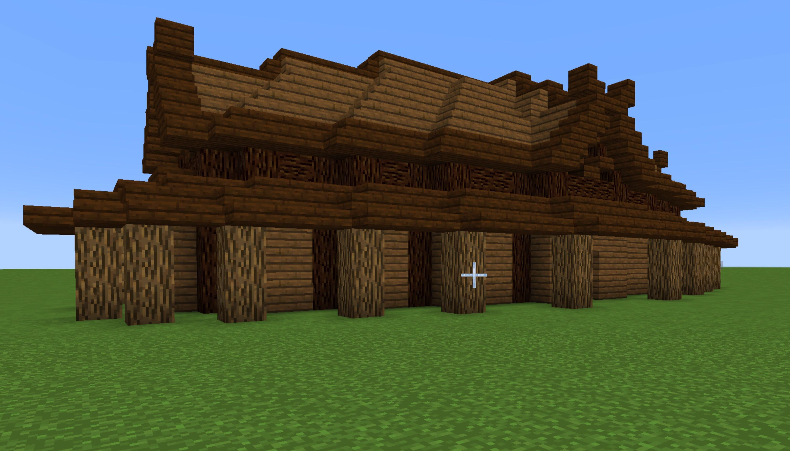 Follow the tutorial and wh… Viking Longhouse Minecraft