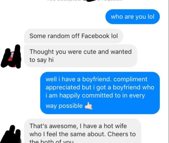 But He Has A Hot Wife Hes Committed To Found On Facebook