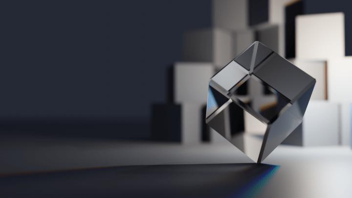 Glass Cube [1920×1080]