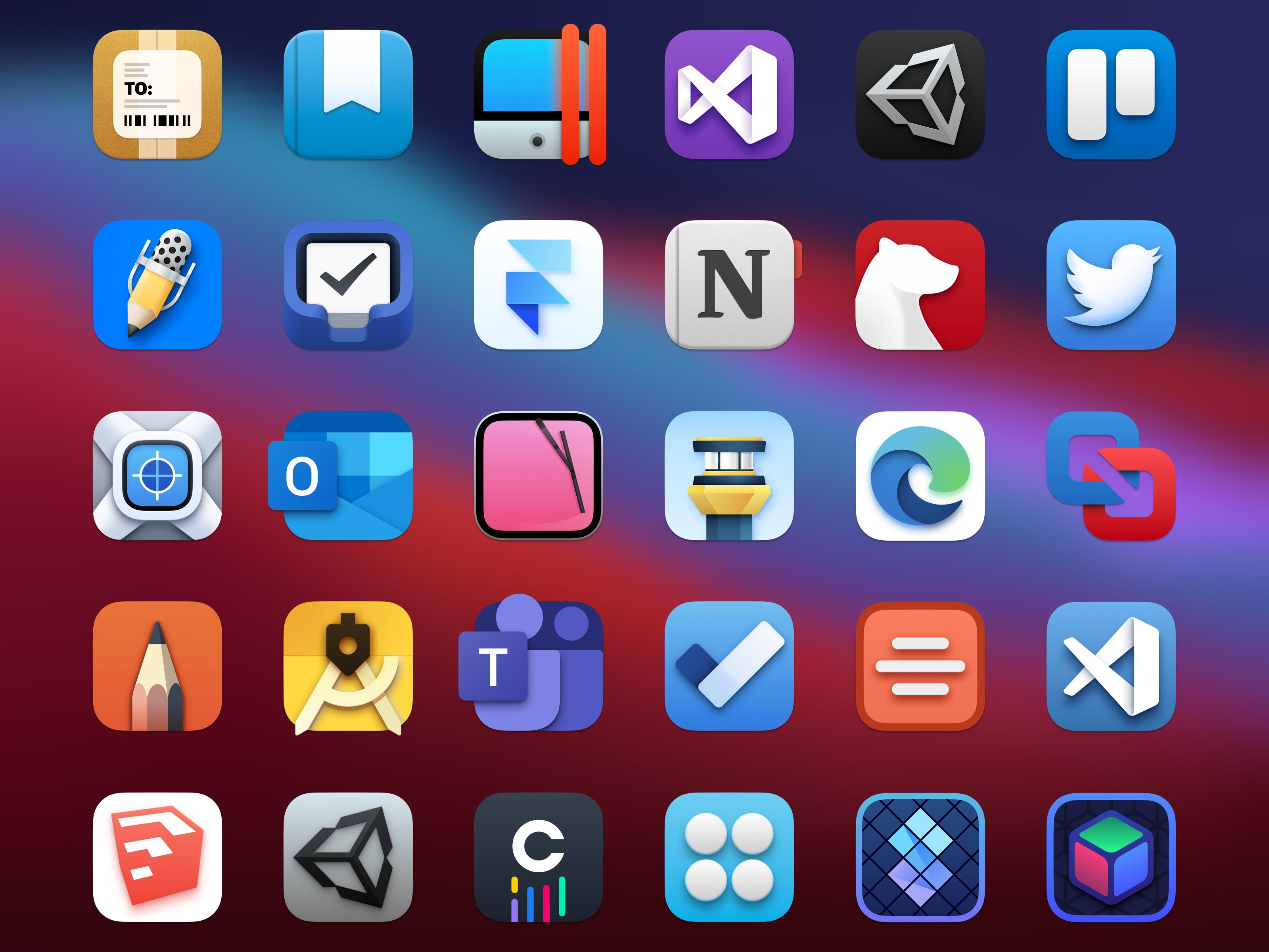 With macos 11 big sur, apple takes the opportunity to refresh the mac's user interface. Final Set Of Replacement Icons For Big Sur Part 3 Macosbeta