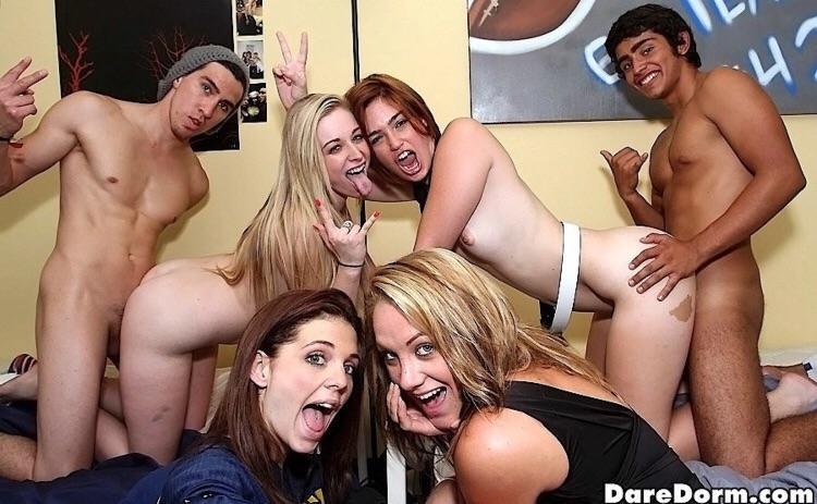 Dare Dorm Orgy