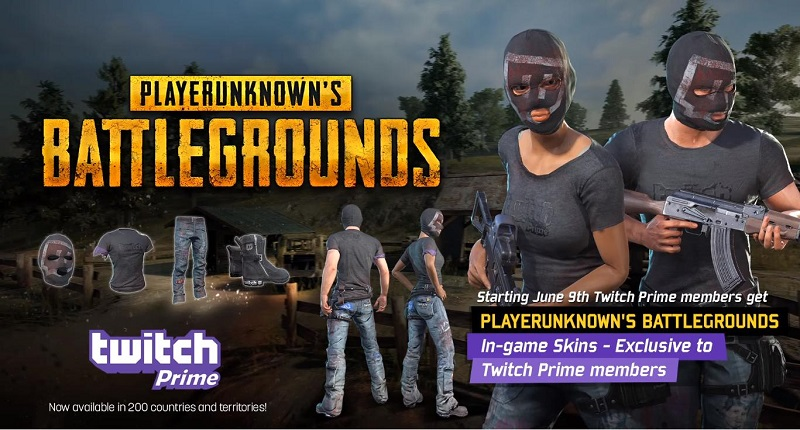 The PUBG Twitch Prime Loot Is Selling On Steam For 25