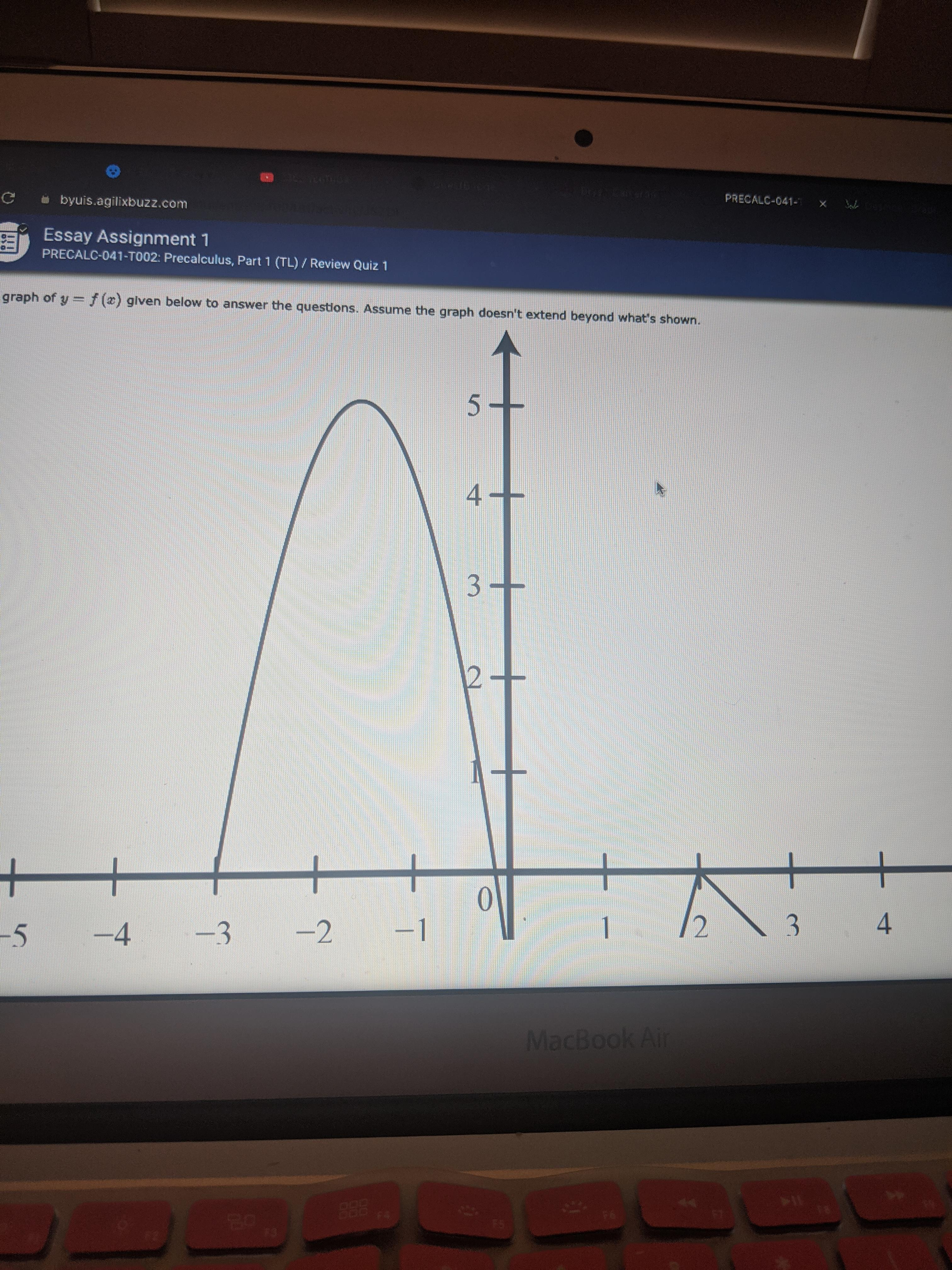 Final Project Help Needed Precalculus