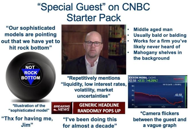"Special Guest"" on CNBC Starter Pack : wallstreetbets"