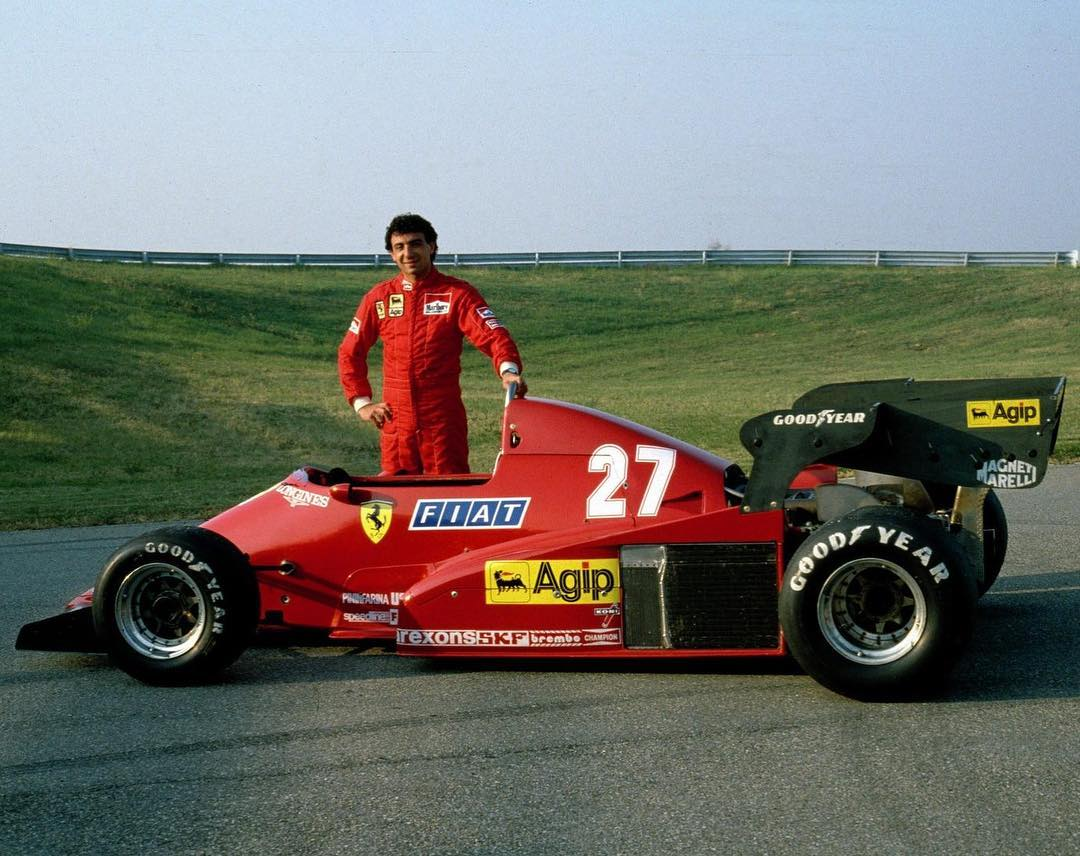 the wheelbase on this 1983 ferrari 126c : formula1